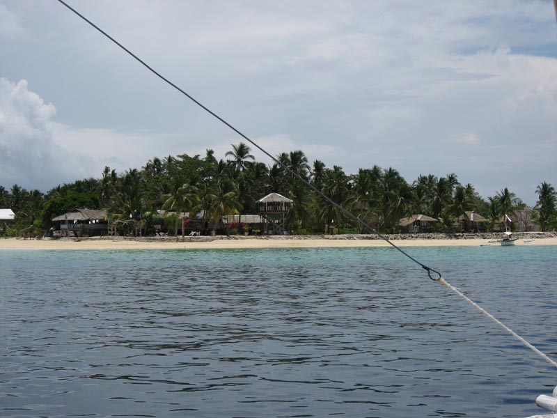 Approaching the Island of Coco Loco