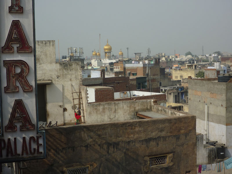Rooftop view of Old Dehi