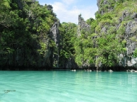 Inside Small Lagoon, El Nido