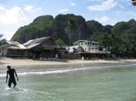 El Nido\'s beach in the morning