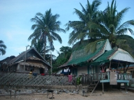 Native Style house of El Nido