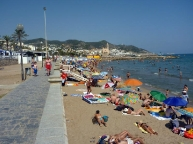 Sitges second Beach