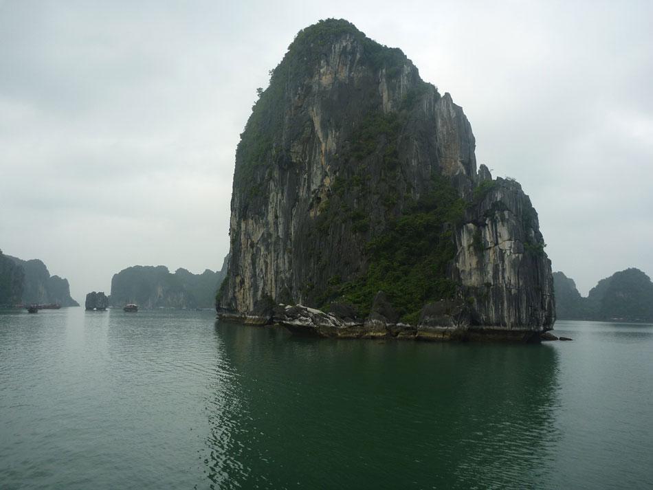 Limestone-islet