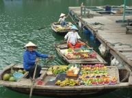 Floating-market