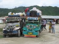 Loading up the Jeepney to the MAX