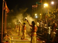Maha-Aarti-ceremony