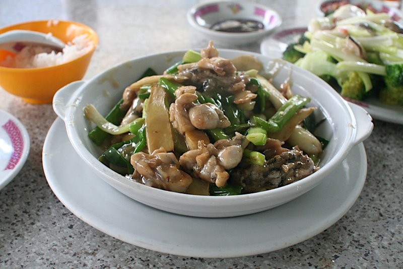 Fried Frog with Ginger and Spring Onion.JPG