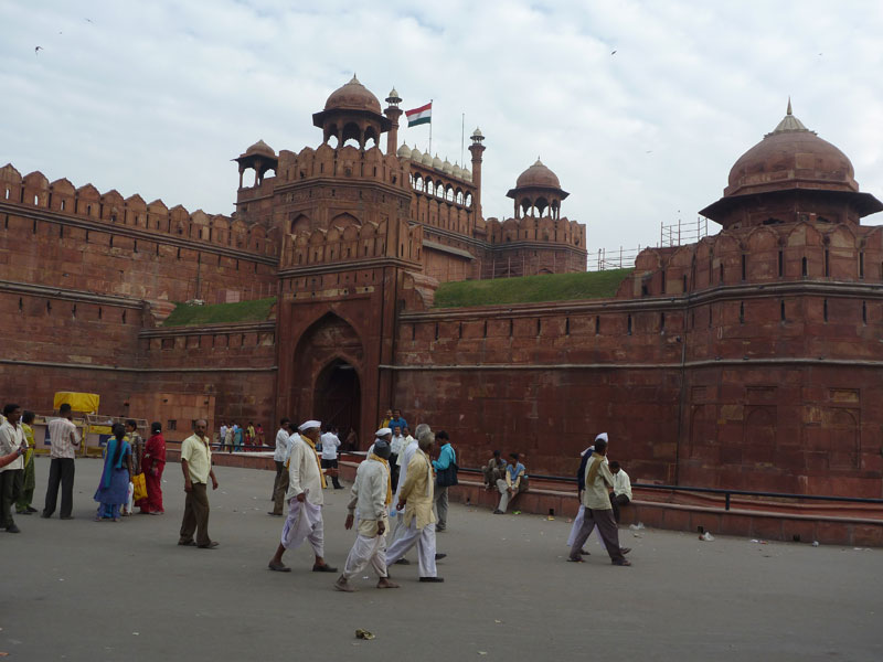 Main entrance of Red Fort