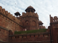 Details of the Red Fort Walls