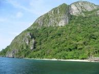 Limestone cliffs, El Nido
