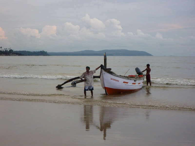 Boats-on-Palolem-beach