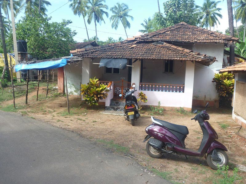 Goan houses