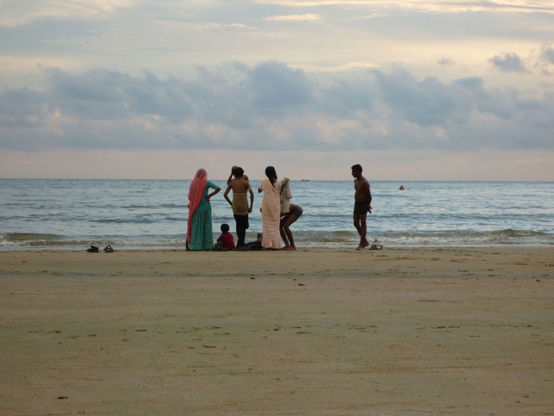 Indians-enjoying-a-sunset