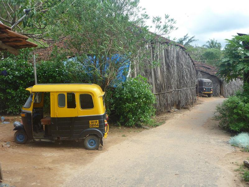 Rickshaw on a break