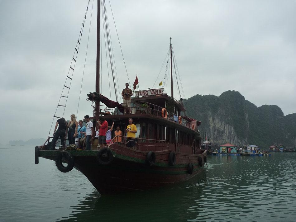 Tourists incoming