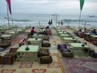 Bar and restaurants along the beach