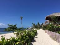 pathway around the accomodations at Ocean Vida Resort