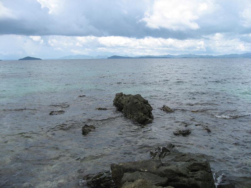 Panorama of Port Barton Bay