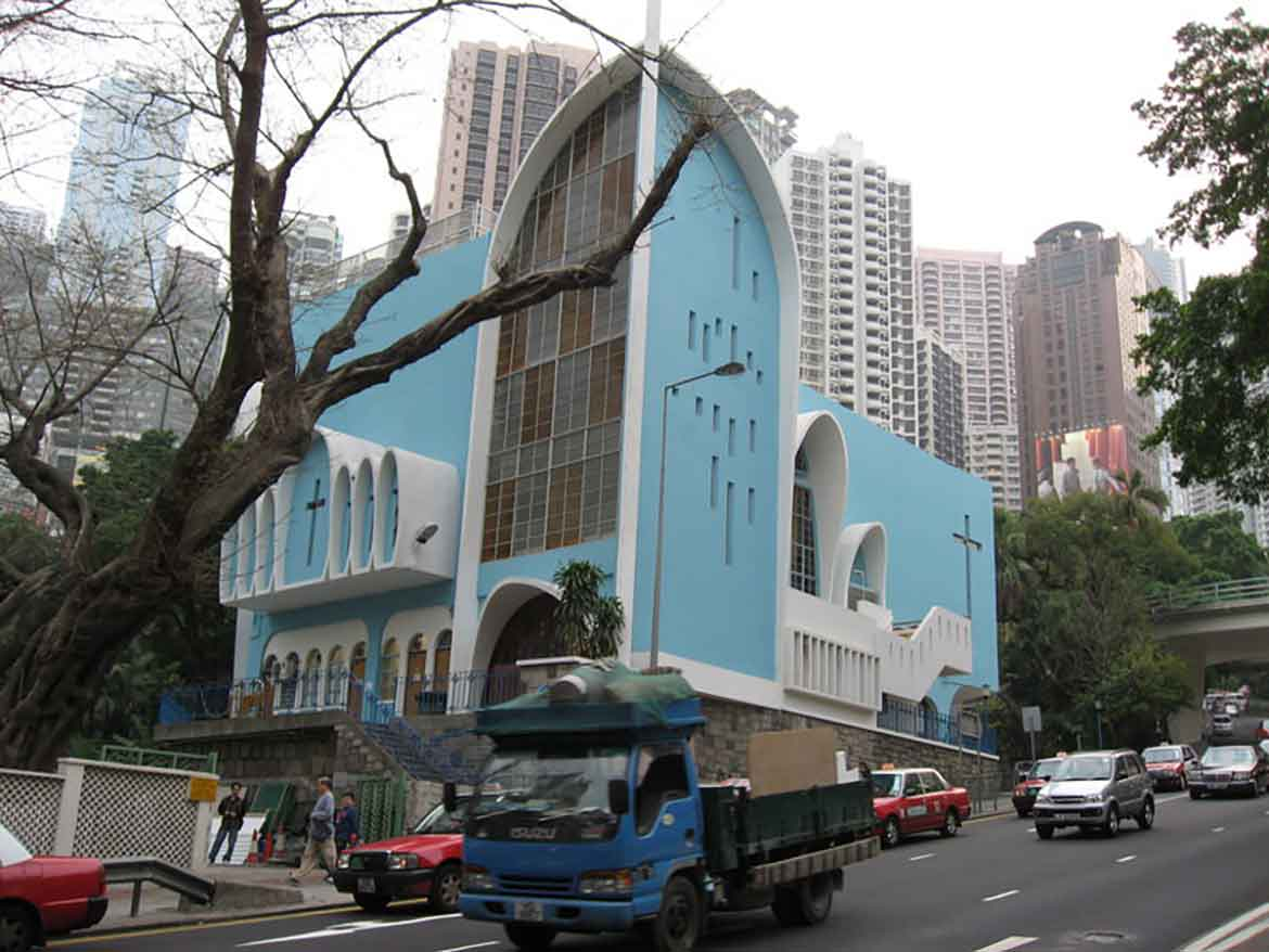 Chinese-style church HK
