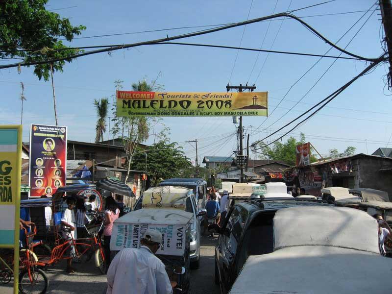 Exiting Maledo 2008