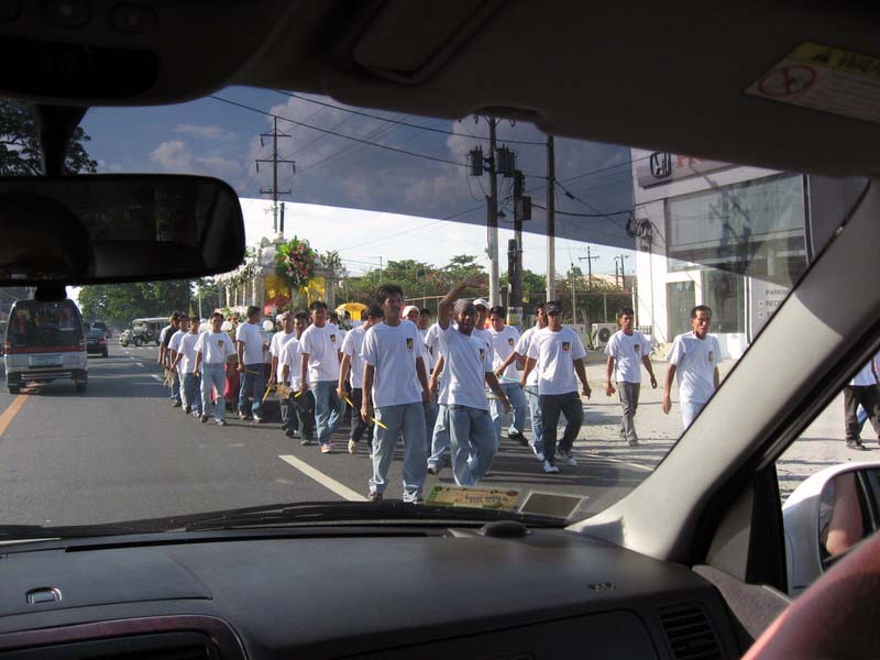 processions were everywhere in Pampanga