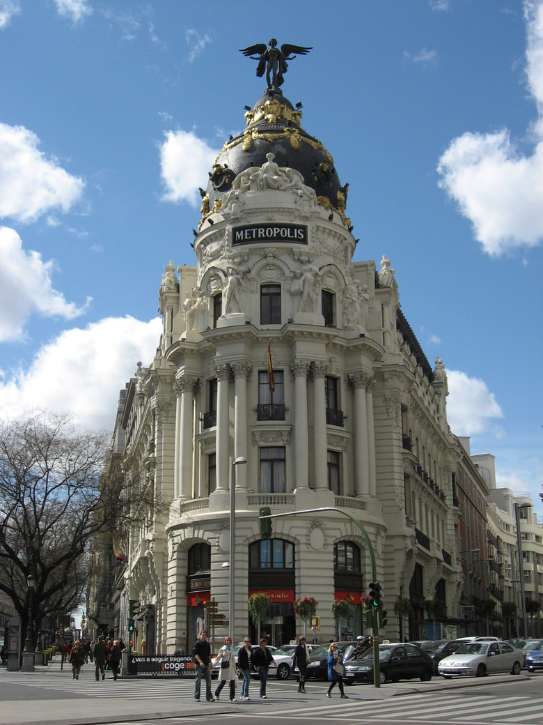 The Metropolis in Madrid