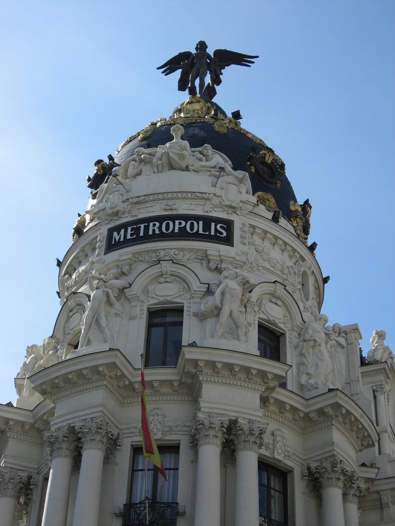 The Metropolis dome Madrid