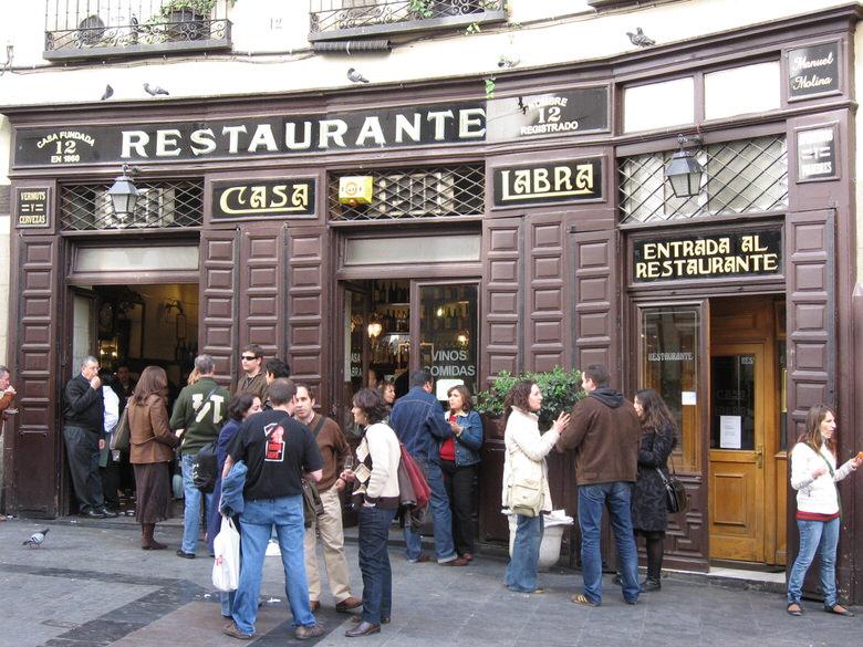 Madrid's café and tapas bars
