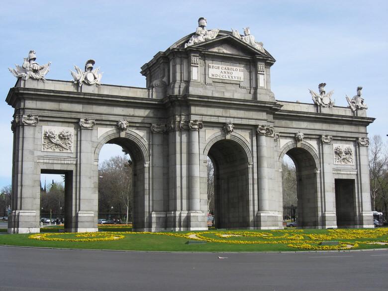 Puerta de Alcalá  in Madrid