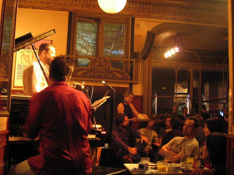 Café central Jazz club Madrid convert