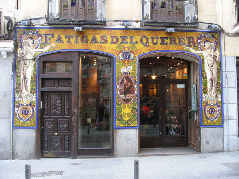 Fatigas del querero seen from outside madrid