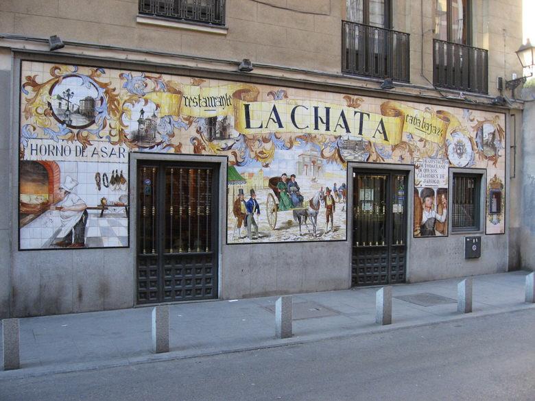 La Chata  restaurant Madrid