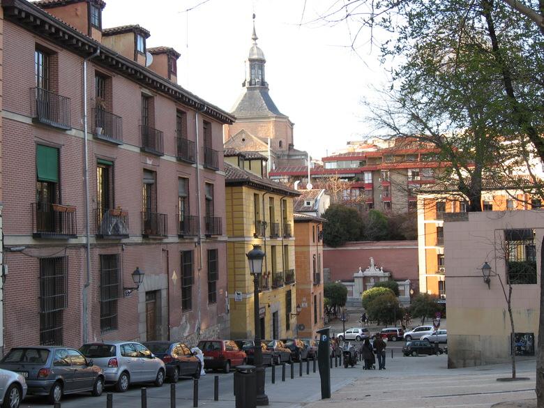 Streets around la Latina