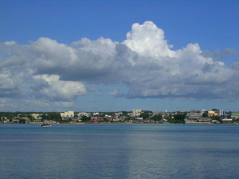 Approaching the Bay of Tagbilaran