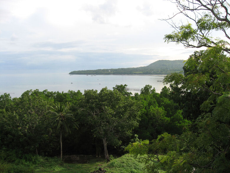 Scenery of the island of Bohol