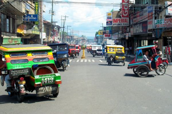 Inside Tagbilaran city (not my picture but I really loved the colorful tricycles featured in it)