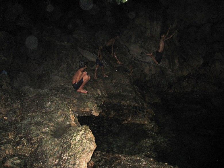 Hinagdanan underground Cave