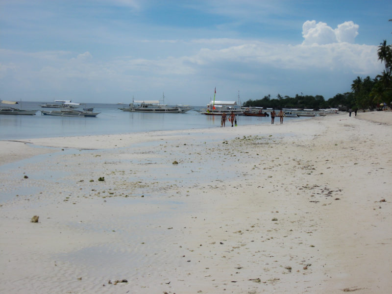 lovely white sand beaches Panglao